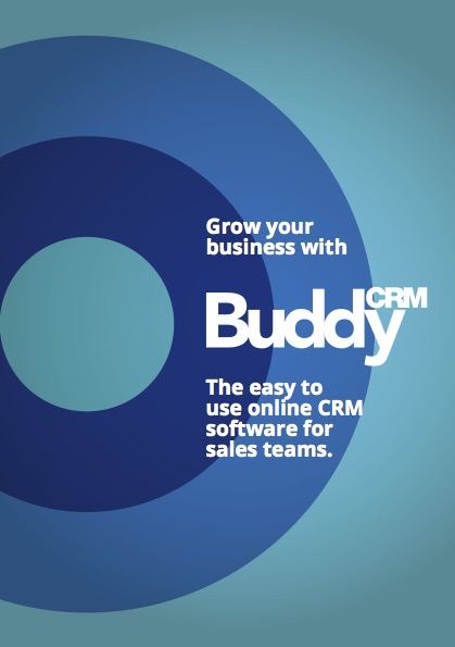 BuddyCRM Sales Leaflet 2018 cover