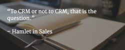 to crm or not image