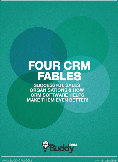 Four fables of CRM cover