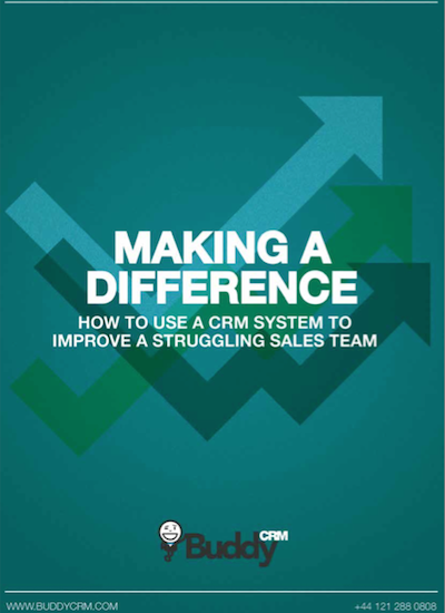 Making a difference article - How to improve a struggling sales team with a CRM system