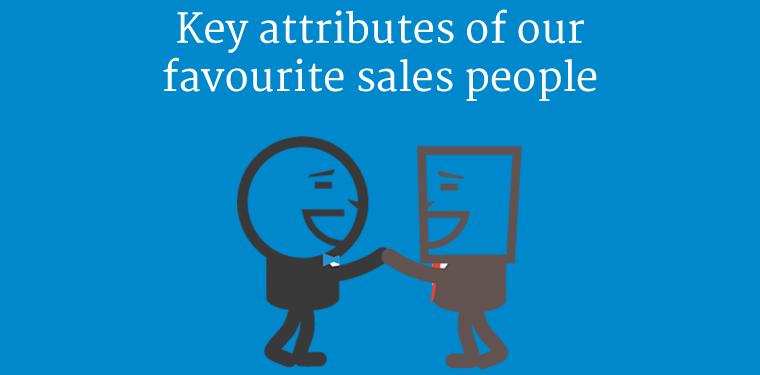Key attributes of top sales people