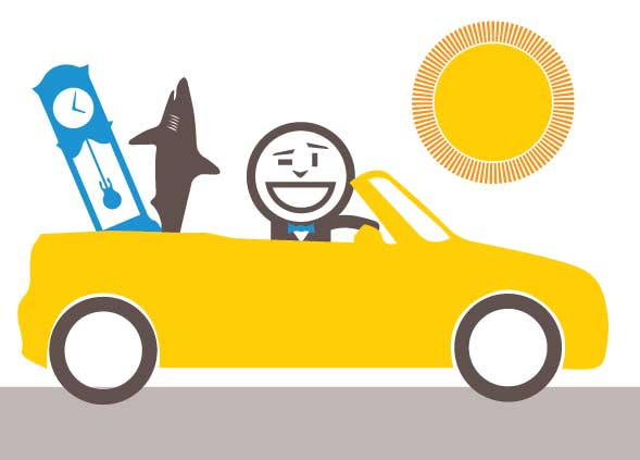 Choose a convertible car for your sales team - increase your load volume capacity