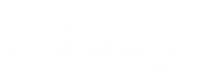 BuddyCRM logo white out
