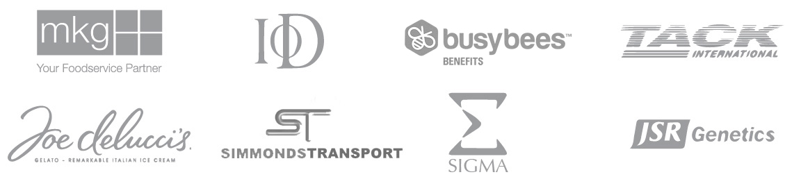Grid of logos of BuddyCRM customers