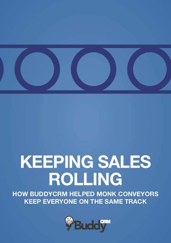 Monk Conveyors case study front cover graphic image