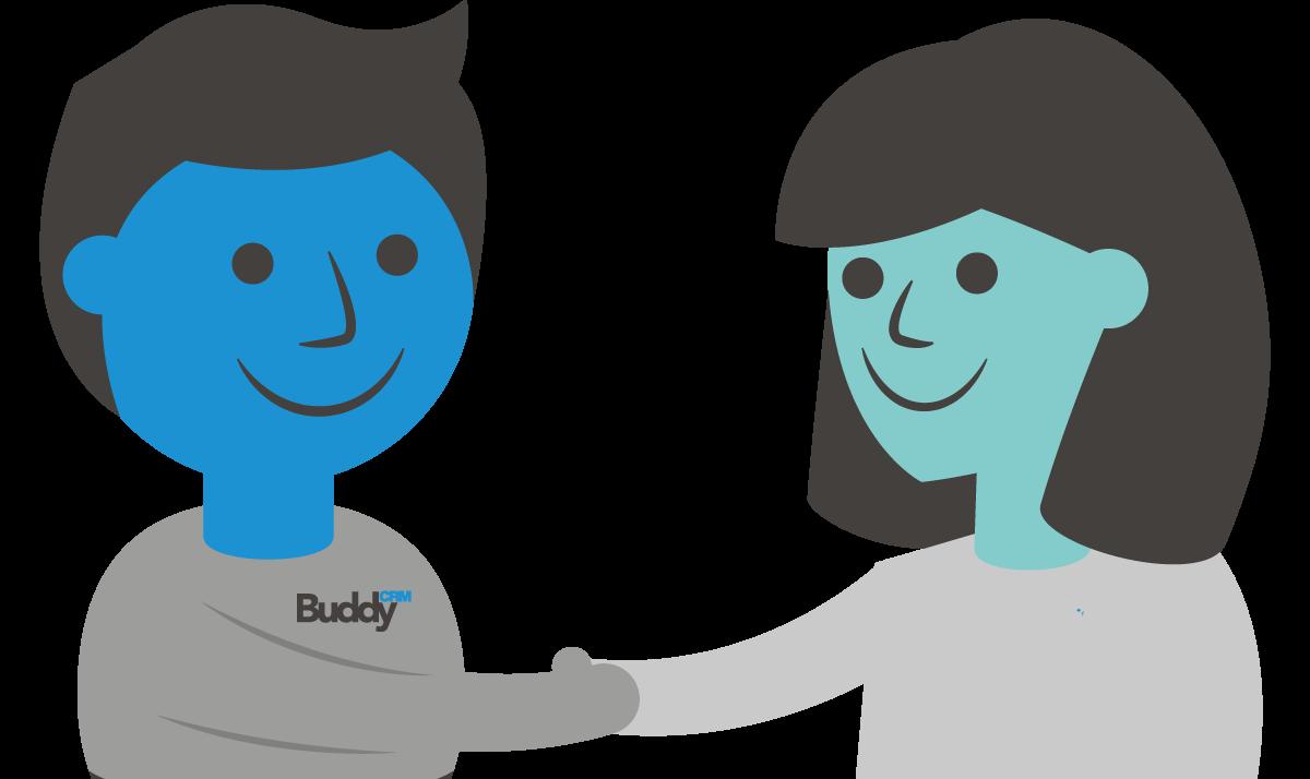 BuddyCRM handshake image - heads only