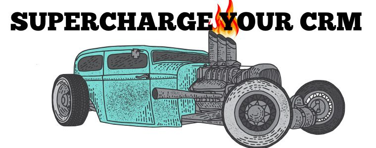supercharge your crm graphic